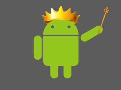 El crecimiento de Android en cinco años: de un 2,2% a un paso de adelantar a Windows en uso de Internet