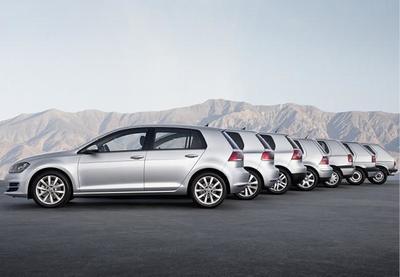 Volkswagen fabrica la unidad 30 millones del Golf