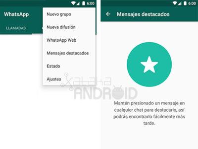 Cómo destacar un mensaje en WhatsApp para Android