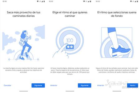 Google Fit Camina Al Ritmo