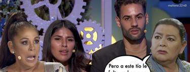 'La Casa Fuerte': Asraf Beno traiciona a Isa Pi y hace pública la verdadera relación que tenían Isabel Pantoja y María del Monte
