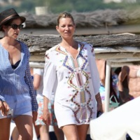 Kate Moss ya disfruta de sus vacaciones