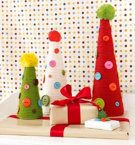 arboles-navidad-lana-botones
