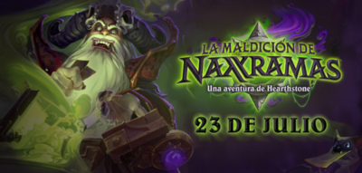 La expansión de Hearthstone ya tiene fecha: Naxxramas nos lanzará su maldición el 23 de julio