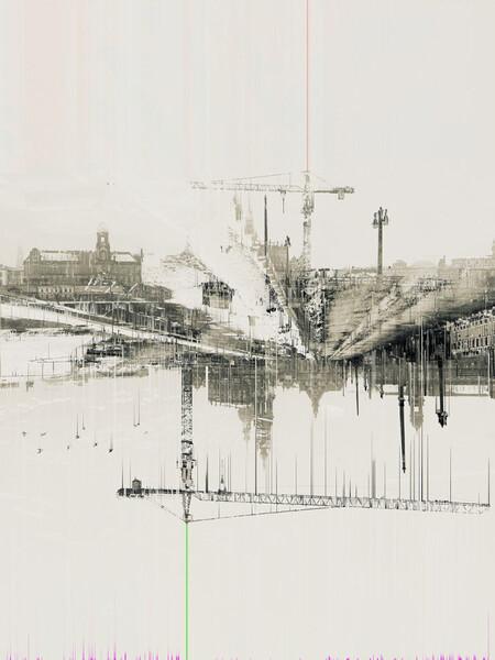 Reconstruction Of Augustus Bridge In Dresden
