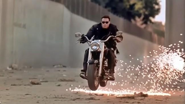La mítica Harley-Davidson Fat Boy de Terminator 2 se va a subastar y su precio se prevé astronómico