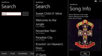SharkPhone, un básico cliente de Grooveshark para Windows Phone 8