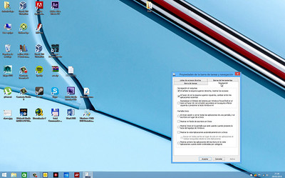 Iniciar sesión en tu Windows 8 directamente en la versión de Escritorio: configuración del equipo