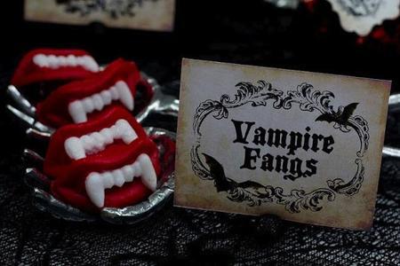 dientes vampiros