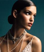 Tendencias peinados de novia 2009: moños bajos