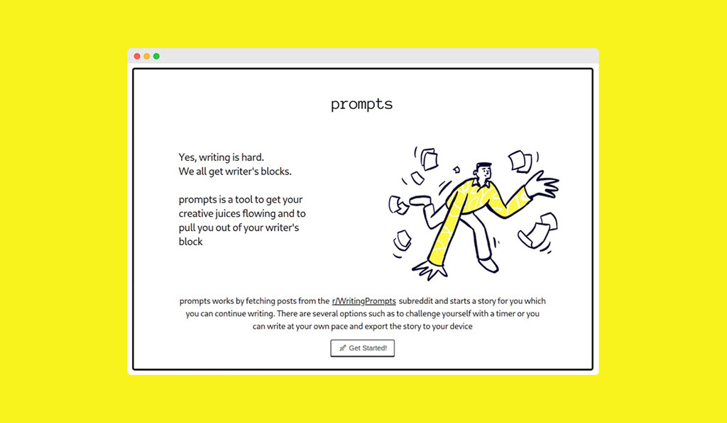 Esta aplicación gratuita te ayudará a ser más creativo si buscas escribir nuevas historias