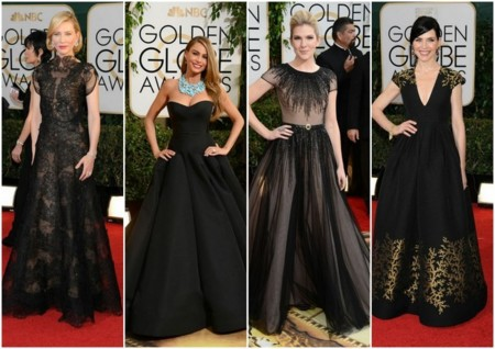 tendencias globos de oro 2014 estilo gótico princesa