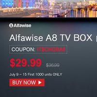 Por sólo 25,80 euros puedes convertir tu viejo televisor en (casi) un Smart TV con la Alfawise A8