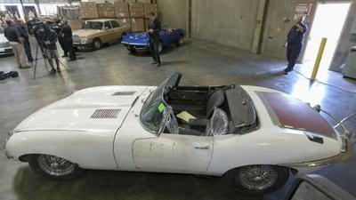 Recupera su Jaguar robado ¡46 años después!