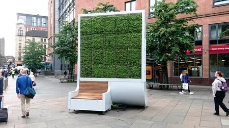 Árboles artificiales en Londres para absorber la contaminación