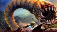 'Death Worm'. Tráiler de este videojuego sobre un gusano gigante insaciable