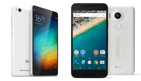 Xiaomi Mi 4c vs Nexus 5X