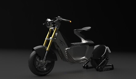Stilride moto eléctrica origami industrial
