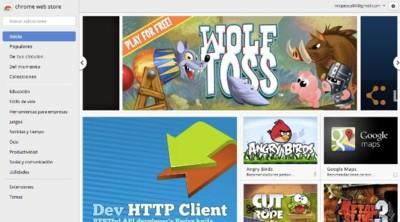 La Chrome Web Store alojará aplicaciones compatibles con casi todos los sistemas operativos