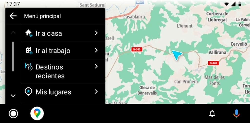 TomTom Go llega a Android Auto: la app de navegación GPS ya es compatible con los coches