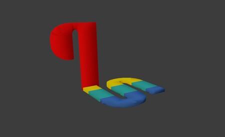 El logo de PlayStation no era plano, era en 3D (y eso significa que podemos recrearlo para dar forma a imágenes como esta)