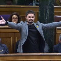 Termómetro de la crispación política según las mamarrachadas de Gabriel Rufián