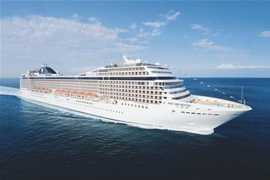 Crucero Orchestra, de la compañía Italiana MSC