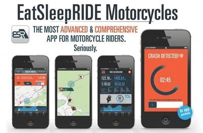 Probamos EatSleepRIDE, la aplicación social y de ayuda para motoristas