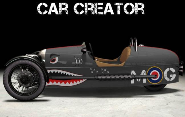 Morgan 3 Wheeler Custom Fkitch