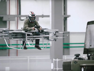 Kalashnikov deja las armas de lado y nos presenta el vehículo volador del mañana