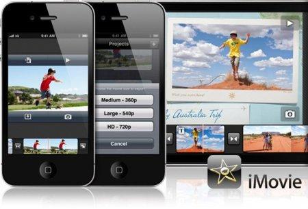 iMovie para iPhone 4, edición de vídeo en la palma de la mano
