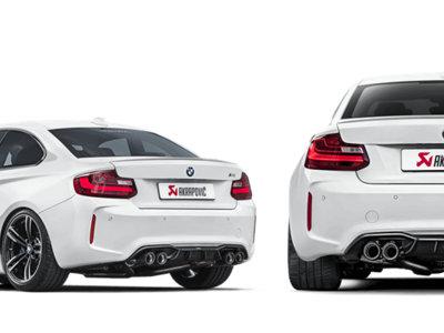 Así de brutal suena (y derrapa) el BMW M2 con escapes Akrapovic