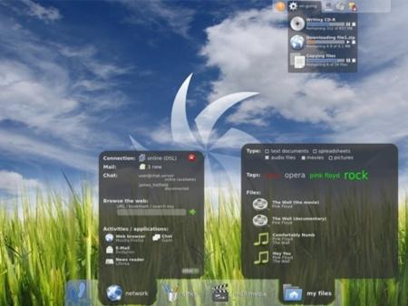 GNOME 3.0 Mockup