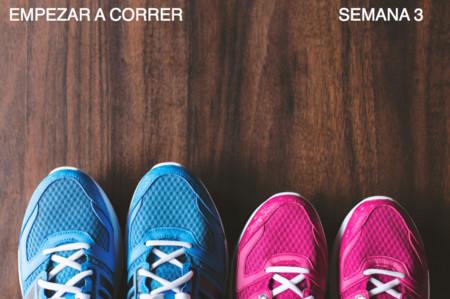 Entrenamiento para empezar a correr: semana 3