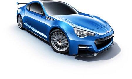 Subaru BRZ Concept STI, imágenes oficiales y en directo