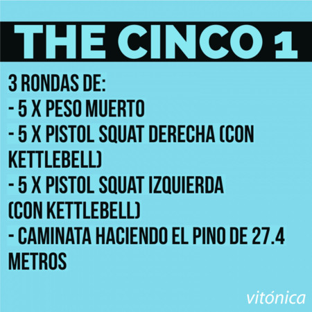 5. The cinco 1