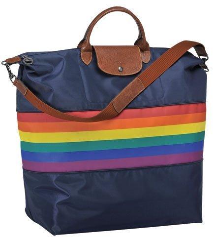 Bolso de Longchamps con motivo del Día del Orgullo Gay