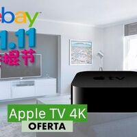 El Apple TV 4K de 32 GB es un chollo en el Día del Soltero de eBay: lo tienes por sólo 157,24 euros con este cupón