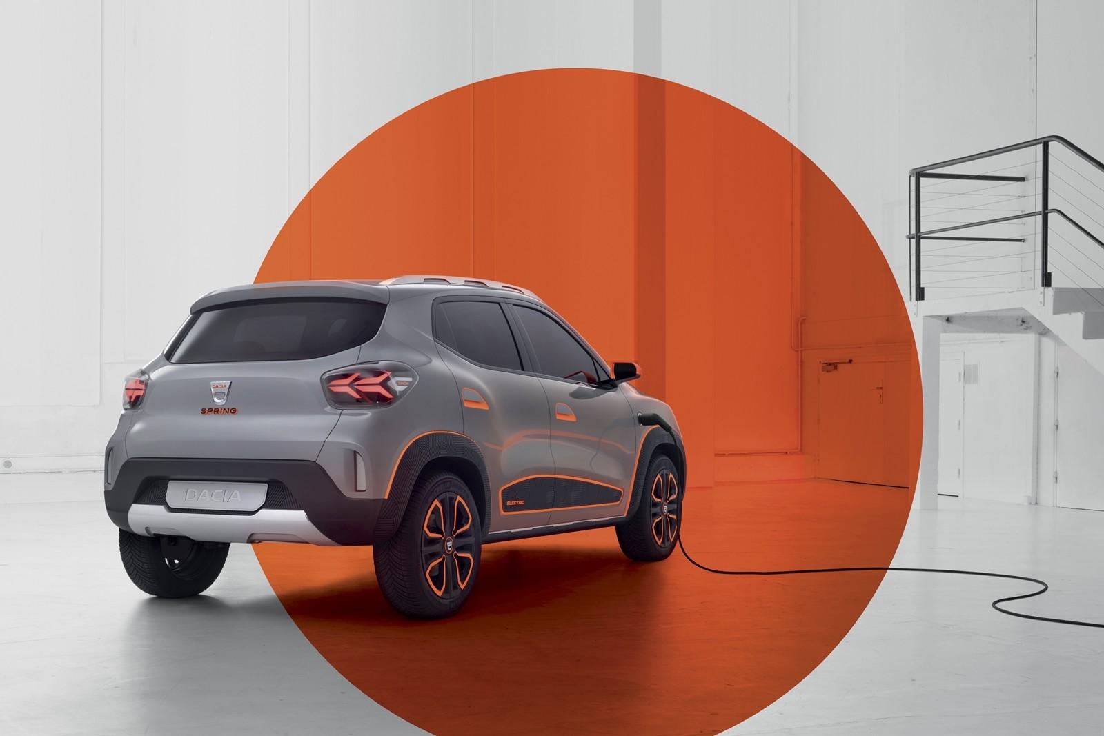 Foto de Dacia Spring Concept 2021 (1/5)