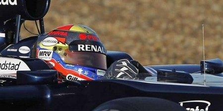 Nadie puede con Pastor Maldonado en el tercer día de pruebas en Barcelona