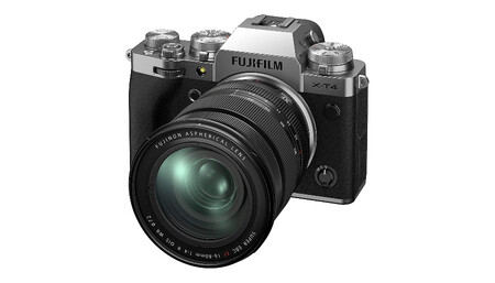Fujifilm X T4 16 80 Silver
