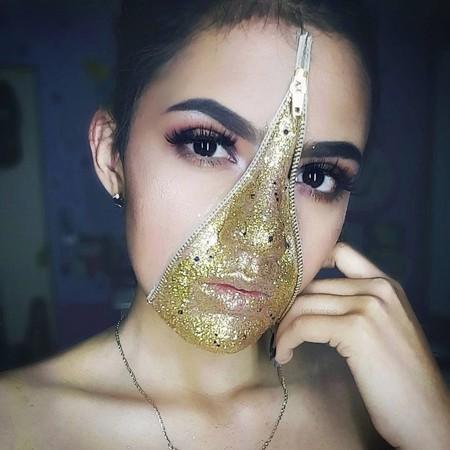 Tres ideas de maquillajes glitter que te convertirán en la reina este Halloween