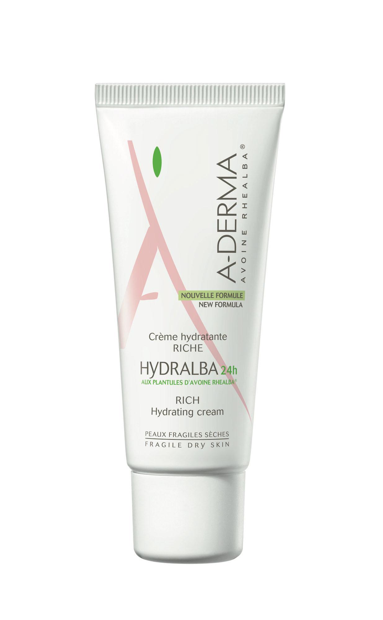 Crema hidratante rica HYDRALBA 24h de A-Derma