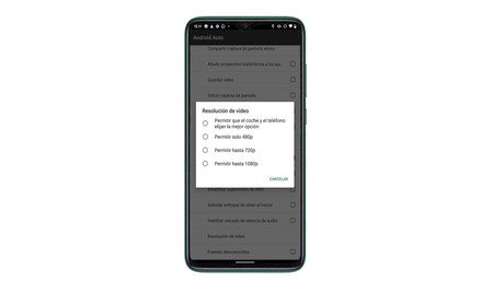 Android Auto Developer Options