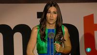 El discurso de Ana Pastor a favor de Fran Llorente, protagonista de los Premios de la Academia de TV