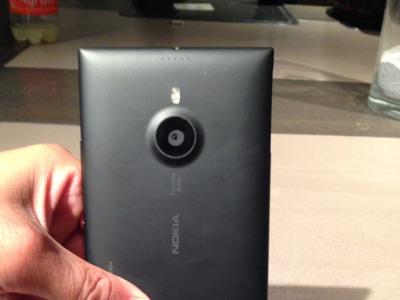 Nokia Lumia 1520, el phablet de Nokia, se filtra en imágenes reales