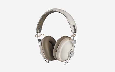 Los Panasonic HTX90 son unos auriculares Bluetooth que llegan con un diseño retro y cancelación de ruido