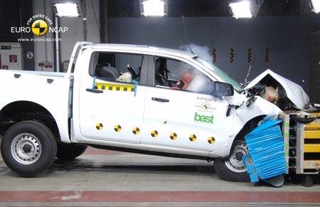 Nueva tanda de pruebas en EuroNCAP: Sobresalientes Ranger, Veloster y Clase M, el Lancia Voyager necesita mejorar