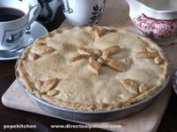 Receta de empanada de manzana o apple pie