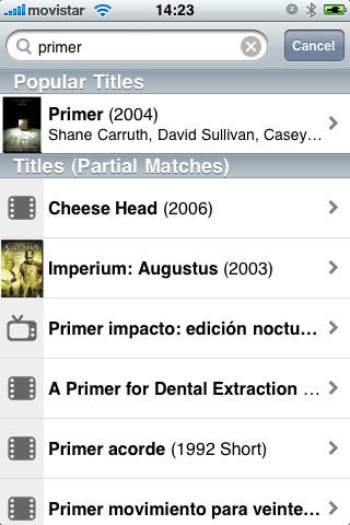 Foto de IMDb para iPhone (4/6)